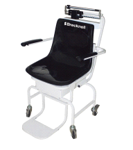 Salter Brecknell CS-200M Physicians Mechanical Chair Weigh Scale