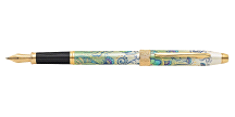 Cross Botanica Green Daylily Fountain Pen