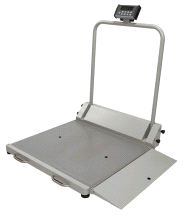 HealthOMeter 2500KL Clinical Digital Wheelchair Ramp Weighing Scale
