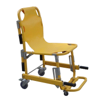 MedSource MS-90044-KS Patient Transport Stair Chair with 4 Wheels 6 Handles