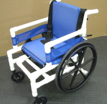 AquaTrek Aquatic Wheelchair Reduced Seat AQ-250-WC 250lbs Capacity Aqua Trek