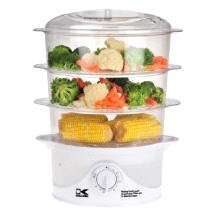 Kalorik DG 33761 3-Tier Food Steamer