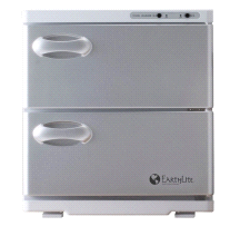EarthLite Salon Large UV Hot Towel Cabinet Towel Sanitizer Warmer White