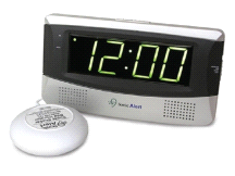 Sonic Alert SB300SS Large LED Display Bedside Alarm Clock with Super Bed Shaker