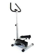 Sunny No. 059 Adjustable Twist Stepper Exercise Machine With Handlebar