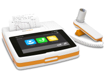 MIR Spirolab Portable Desktop Bluetooth Spirometer with 7 Inch Touch Screen