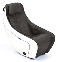 Synca SL Track Heat Therapy BURNT COFFEE Compact Massage Chair