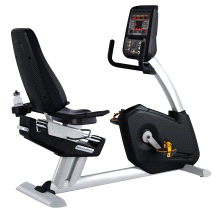 Steelflex PR10 LED Display 8-Program Matrix Recumbent Bike