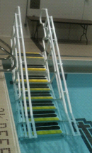 AquaTrek 6 Tread Step SADA-6 ADA Pool Step System
