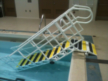 AquaTrek AQ-7000 NON ADA 7 Tread Pool Step System