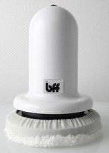 The BFF Multi Speed Pro WHITE Vibrating Rotating Body Buffer Massager