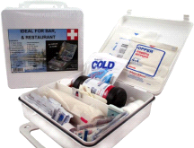Elite First Aid FA112 White Series 24 Person Aid Kit