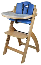 Abiie Natural Wooden Blueberry Beyond Junior Y High Chair