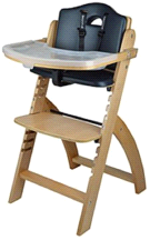 Abiie Natural Black Pearl Beyond Junior Y High Chair
