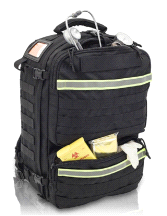 LLUSA Paramed BLACK Elite Tactical First Responder Lightweight Backpack