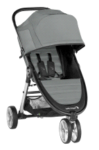 Baby Jogger City Mini 2 SLATE Lightweight Compact Foldable 3 Wheel Stroller