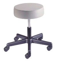 Brewer Doctor's Spin Lift Exam Stool