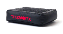 Thermotex Infrared Heated Dog Therapeutic Small Pet Bed