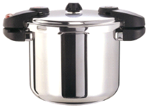 Buffalo Clad Quick Pot Stainless Steel Pressure Cooker Canner 8L