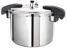 Buffalo Clad Quick Pot Stainless Steel Pressure Cooker Canner 12L