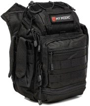 My Medic Recon Advanced Emergency First Aid Kit Black
