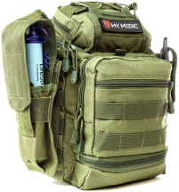 My Medic Recon Advanced Emergency First Aid Kit Green