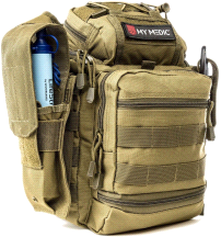 My Medic Recon Advanced Emergency First Aid Kit Coyote