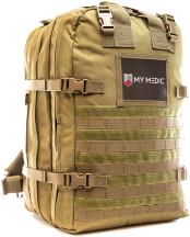 My Medic Basic Emergency First Aid Kit Coyote