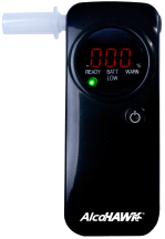 Alcohawk Pro FC Fuel Cell Breathalyzer Digital Breath Alcohol Tester