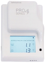SafetySiren Pro4 Series Radon Gas Detector