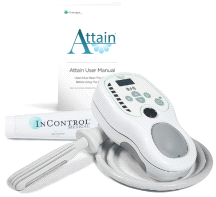 InControl Medical Attain Bladder Control Muscle Stimulation Handheld Device