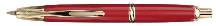 Namiki Vanishing Point Red Fountain Pen w/ Gold
