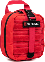 My Medic The MYFAK Advanced Emergency First Aid Kit Red