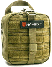 My Medic The MYFAK Advanced Emergency First Aid Kit Green