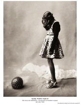 """Girl With Virus"" COVID-19 Isolation Wet Plate Limited Edition Print"