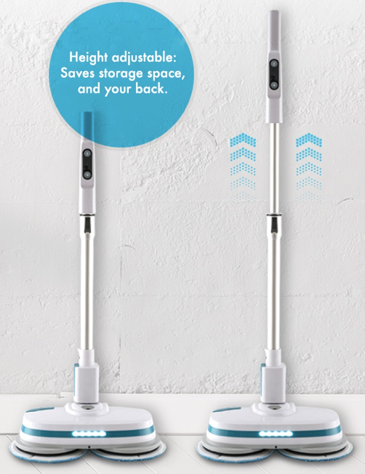 NEW AirCraft WHITE Powerglide Cordless Rechargeable Hard Floor Cleaner