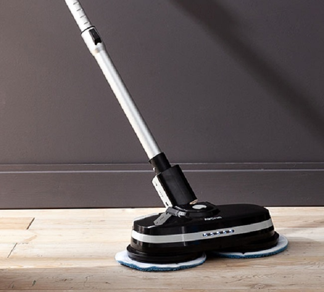 NEW AirCraft BLACK Powerglide Cordless Rechargeable Hard Floor Cleaner