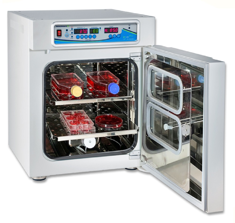 Details about NEW Benchmark ST-45 Plus CO2 Heated Shaking 45 Liter  Incubator 115V
